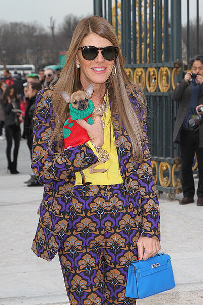 Valentino - Outside Arrivals - PFW F/W 2013