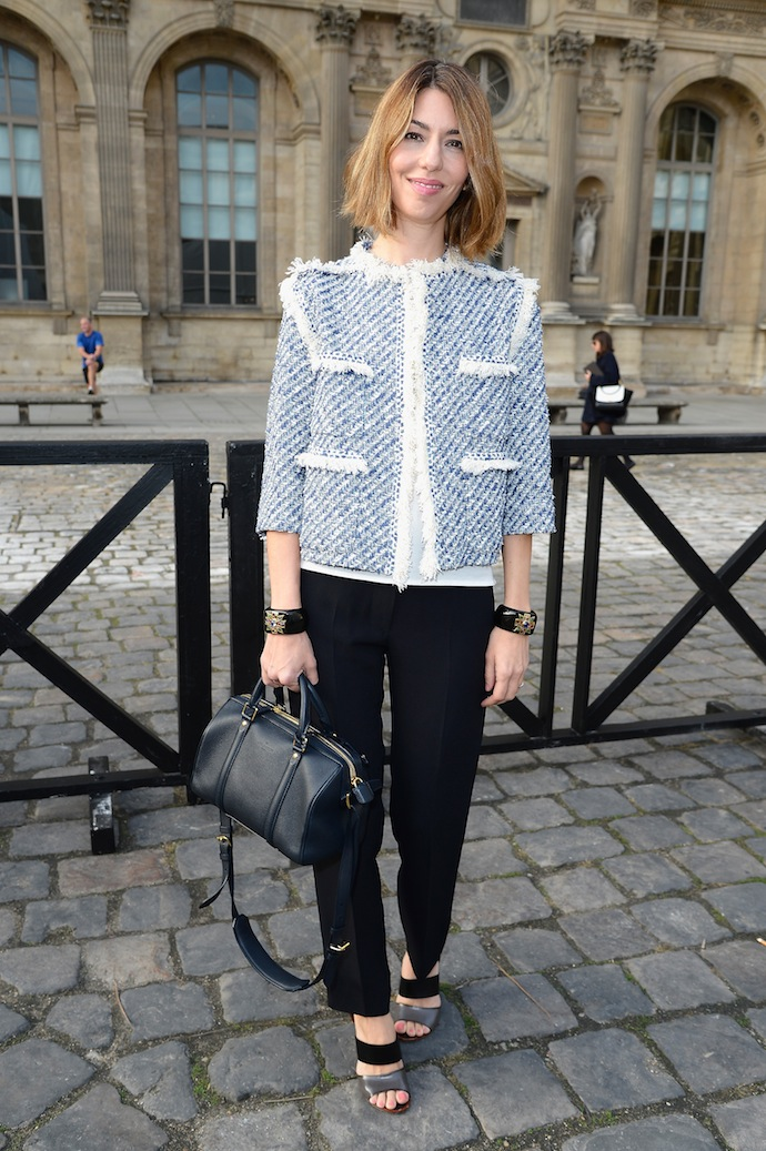 Louis Vuitton: Front Row - Paris Fashion Week Womenswear Spring/Summer 2014
