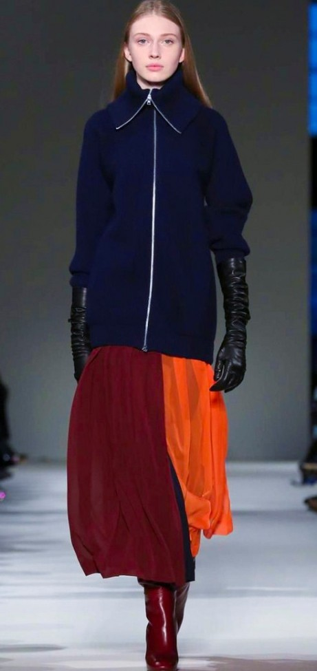Victoria Beckham, Women Fashion Show, Ready to Wear Collection Fall Winter 2017 in New York