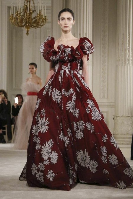 Valentino, Fashion Show, Couture Collection Spring Summer 2018 in Paris